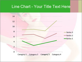 Model with Pink Circle on her Neck PowerPoint Template - Slide 54