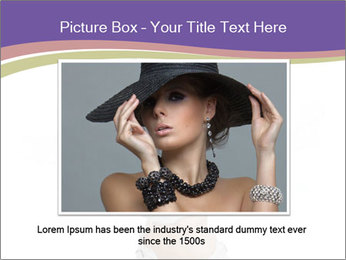 Cute Woman with Soccer Ball PowerPoint Template - Slide 16