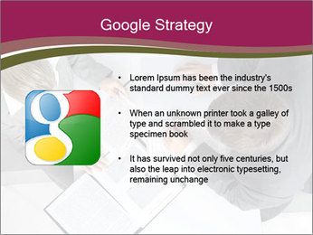 Colleagues and Paperwork PowerPoint Template - Slide 10