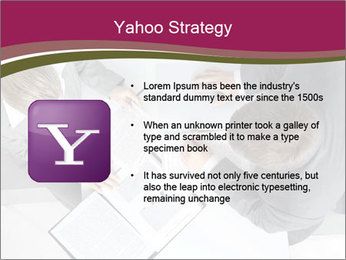 Colleagues and Paperwork PowerPoint Template - Slide 11