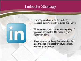 Colleagues and Paperwork PowerPoint Template - Slide 12