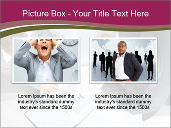 Colleagues and Paperwork PowerPoint Templates - Slide 18