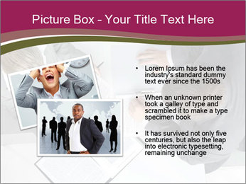 Colleagues and Paperwork PowerPoint Template - Slide 20