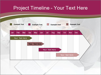Colleagues and Paperwork PowerPoint Template - Slide 25