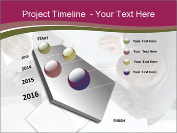 Colleagues and Paperwork PowerPoint Template - Slide 26
