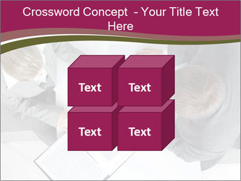 Colleagues and Paperwork PowerPoint Template - Slide 39