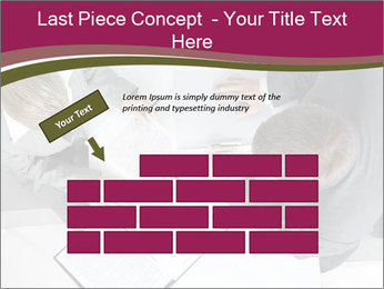 Colleagues and Paperwork PowerPoint Template - Slide 46