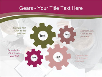 Colleagues and Paperwork PowerPoint Template - Slide 47