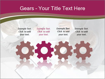 Colleagues and Paperwork PowerPoint Template - Slide 48