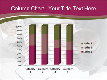 Colleagues and Paperwork PowerPoint Template - Slide 50