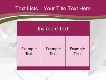 Colleagues and Paperwork PowerPoint Template - Slide 59