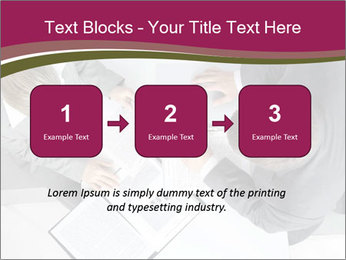 Colleagues and Paperwork PowerPoint Template - Slide 71
