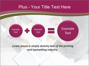 Colleagues and Paperwork PowerPoint Templates - Slide 75