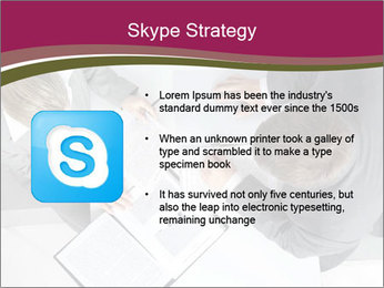 Colleagues and Paperwork PowerPoint Templates - Slide 8