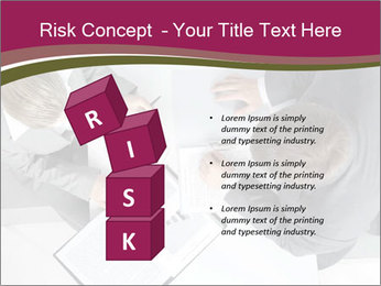 Colleagues and Paperwork PowerPoint Template - Slide 81