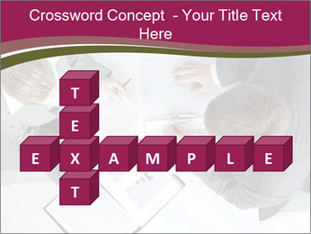 Colleagues and Paperwork PowerPoint Template - Slide 82