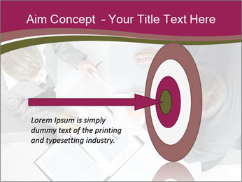 Colleagues and Paperwork PowerPoint Templates - Slide 83