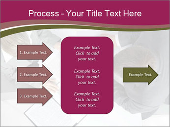 Colleagues and Paperwork PowerPoint Template - Slide 85