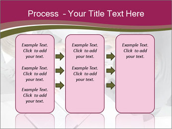 Colleagues and Paperwork PowerPoint Template - Slide 86
