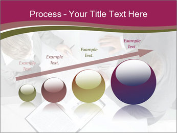 Colleagues and Paperwork PowerPoint Templates - Slide 87