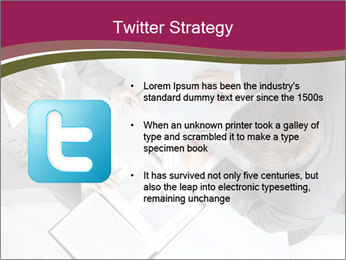 Colleagues and Paperwork PowerPoint Template - Slide 9