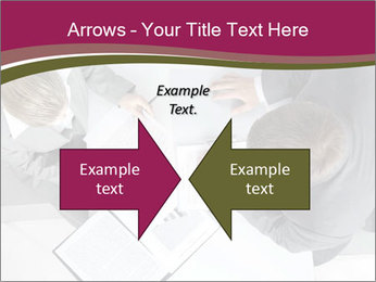 Colleagues and Paperwork PowerPoint Template - Slide 90