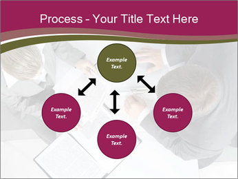 Colleagues and Paperwork PowerPoint Template - Slide 91