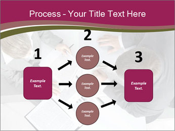 Colleagues and Paperwork PowerPoint Template - Slide 92