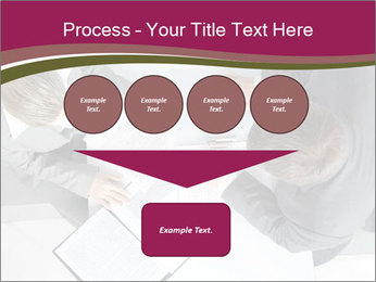 Colleagues and Paperwork PowerPoint Templates - Slide 93