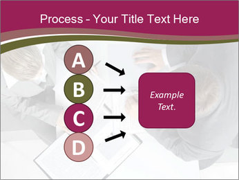 Colleagues and Paperwork PowerPoint Template - Slide 94