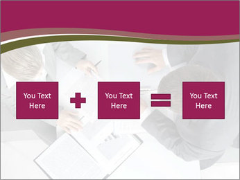 Colleagues and Paperwork PowerPoint Templates - Slide 95