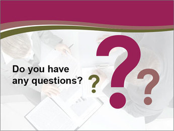 Colleagues and Paperwork PowerPoint Templates - Slide 96