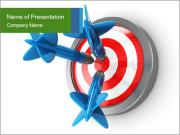 3D Darts PowerPoint Templates