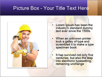 Smiling Builder PowerPoint Template - Slide 13
