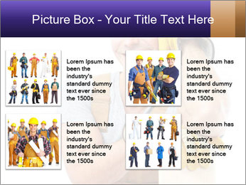 Smiling Builder PowerPoint Template - Slide 14