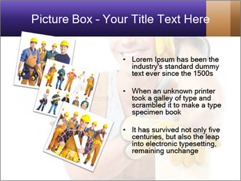 Smiling Builder PowerPoint Template - Slide 17
