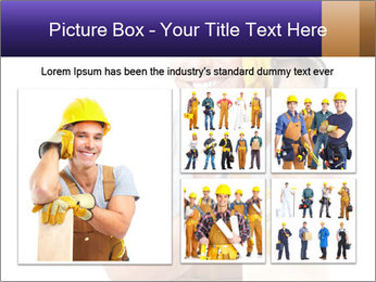 Smiling Builder PowerPoint Template - Slide 19