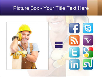 Smiling Builder PowerPoint Template - Slide 21