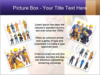 Smiling Builder PowerPoint Template - Slide 24