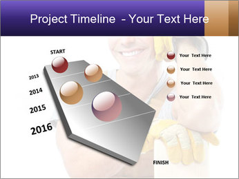 Smiling Builder PowerPoint Template - Slide 26
