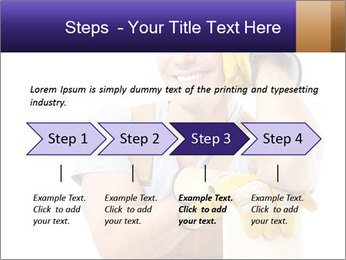 Smiling Builder PowerPoint Template - Slide 4