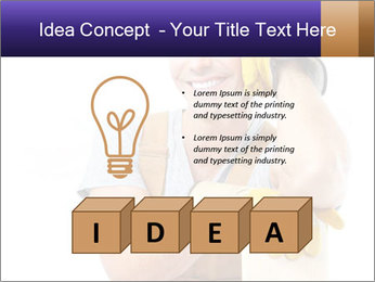 Smiling Builder PowerPoint Template - Slide 80