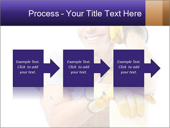 Smiling Builder PowerPoint Template - Slide 88