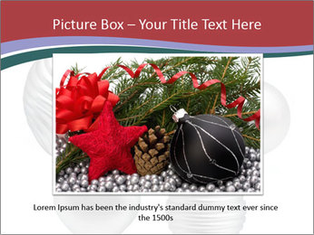 Silver Christmas Toys PowerPoint Templates - Slide 15