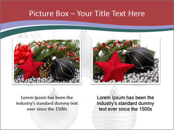 Silver Christmas Toys PowerPoint Templates - Slide 18