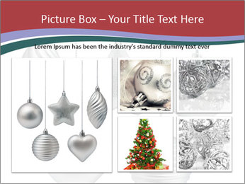 Silver Christmas Toys PowerPoint Templates - Slide 19