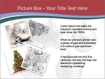 Silver Christmas Toys PowerPoint Templates - Slide 23