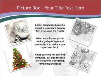 Silver Christmas Toys PowerPoint Templates - Slide 24