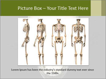 Scary Human Skull PowerPoint Template - Slide 15