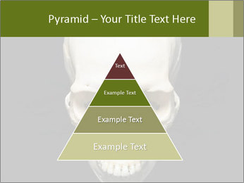 Scary Human Skull PowerPoint Template - Slide 30